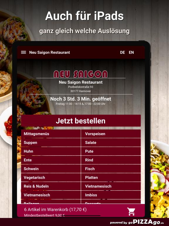 Neu Saigon Restaurant Hannover screenshot 7