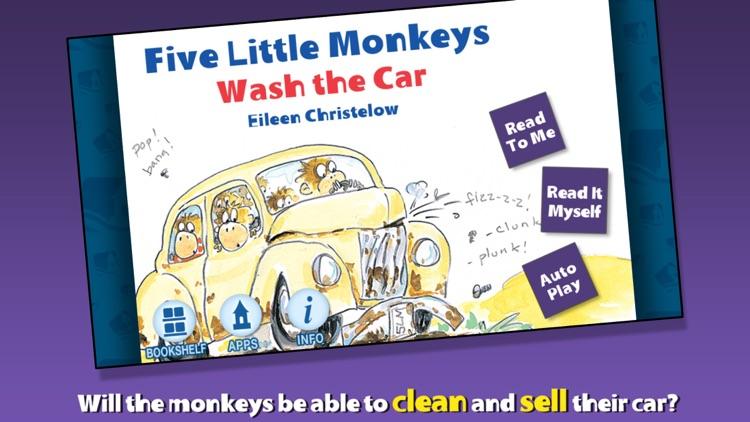 5 Little Monkeys Wash the Car