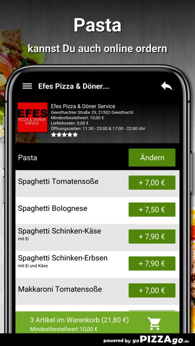 Efes Pizza & Döner Service screenshot 5