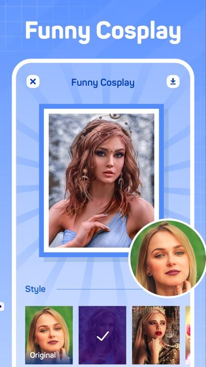 KnowMe-AI Face Editor&Quizzes screenshot-5