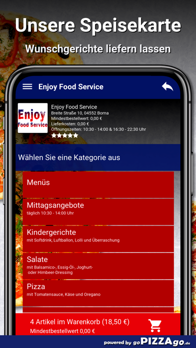 Enjoy Food Service Borna screenshot 4