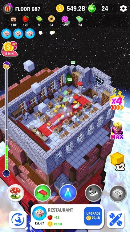Tower Craft 3D - Idle Building screenshot-8