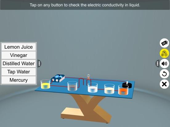 Electric Conduction in Liquids screenshot 12