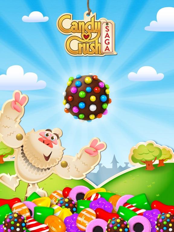 Candy Crush Saga iPad app afbeelding 1