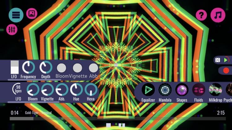 Vythm JR - Music visualizer screenshot-4