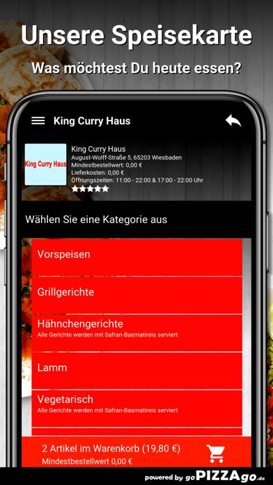 King Curry Haus Wiesbaden screenshot 4