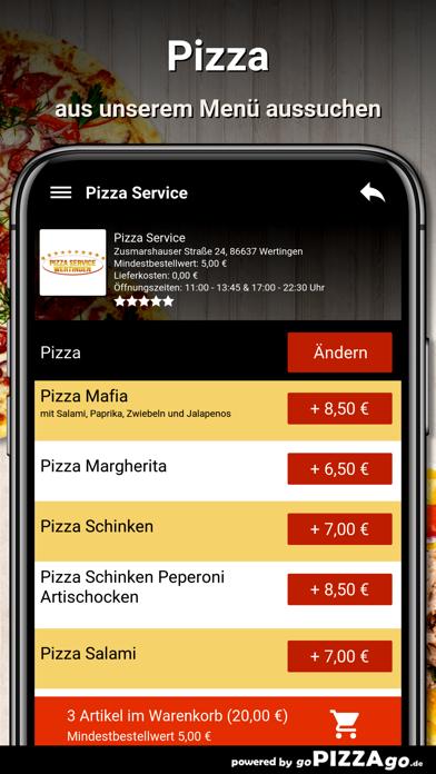 Pizza Service Wertingen screenshot 5