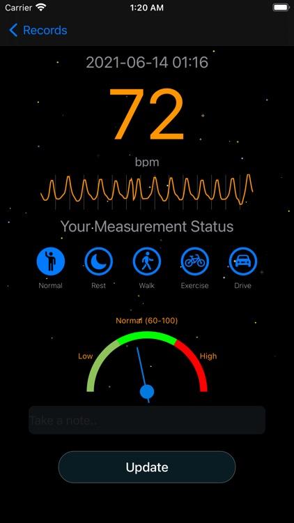 Measure Heart Rate screenshot-4