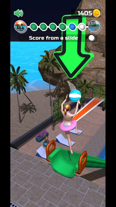 Wet Hoops screenshot 1