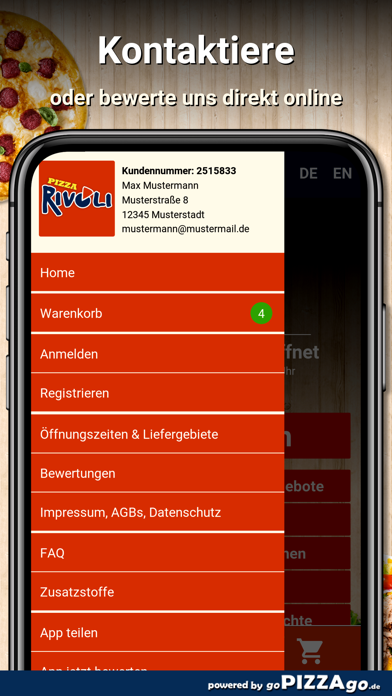 Pizza Rivoli Dresden screenshot 3