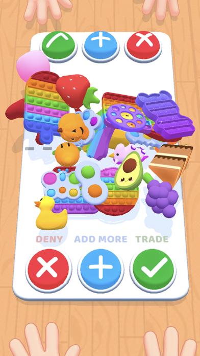 Fidget Toys Trading: 3D Pop It iPhone app afbeelding 1