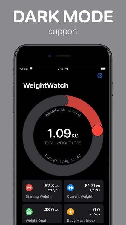 WeightWatch: Weight Tracker screenshot-8