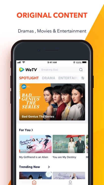 WeTV - Best Asian Contents
