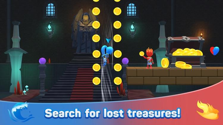 Water & Fire Stickman 3D screenshot-5