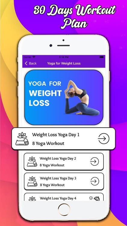 Weight Loss Yoga Exercise screenshot-4