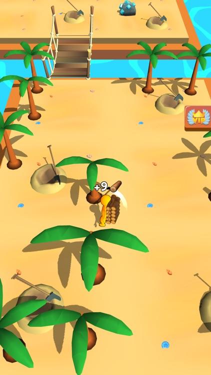 Buildy Island 3d: Chop & Craft screenshot-7