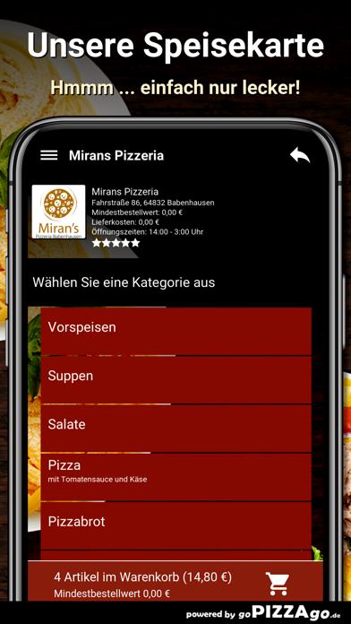 Mirans Pizzeria Babenhausen screenshot 4