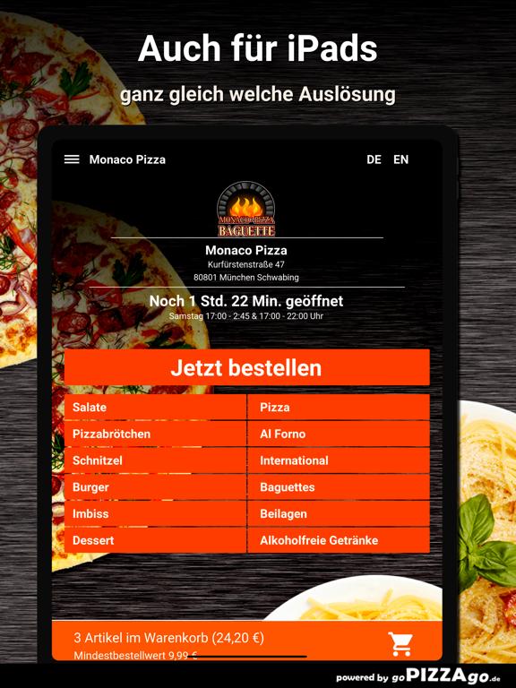 Monaco-Pizza München screenshot 7