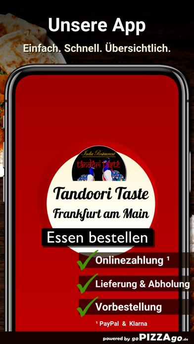 Tandoori Taste Frankfurt screenshot 1