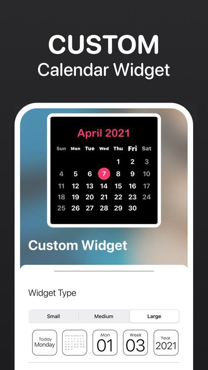 Calendar Widget - Date Widgets screenshot-5