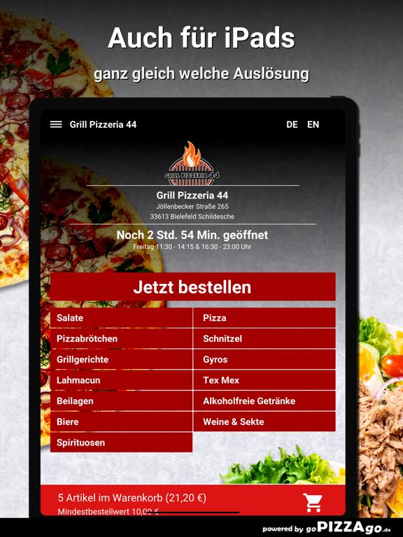 Grill Pizzeria 44 Bielefeld screenshot 7