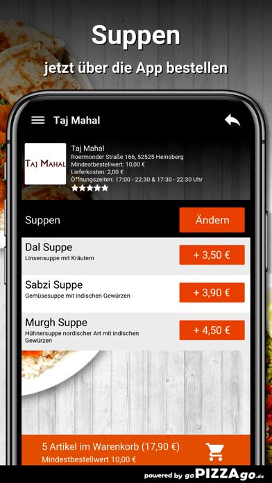 Taj Mahal Heinsberg screenshot 5