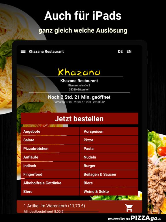 Khazana Restaurant Gütersloh screenshot 7