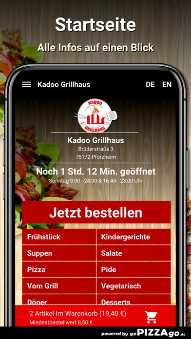 Kadoo Grillhaus Pforzheim screenshot 2