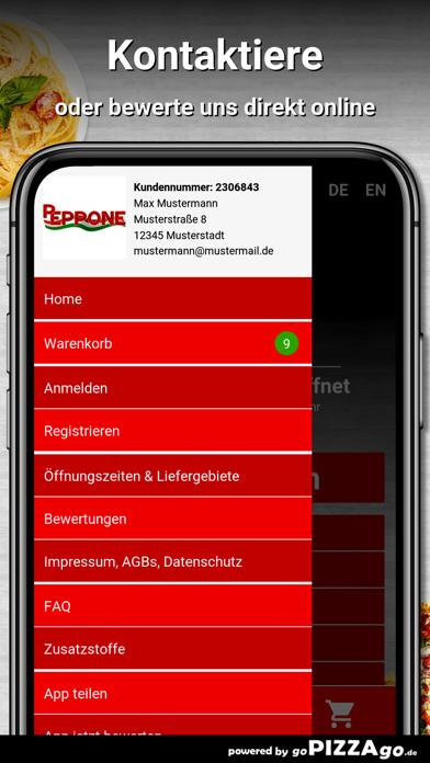 Pizzeria bei Peppone Hattingen screenshot 3