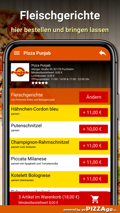 Pizza-Punjab Puchheim screenshot 6
