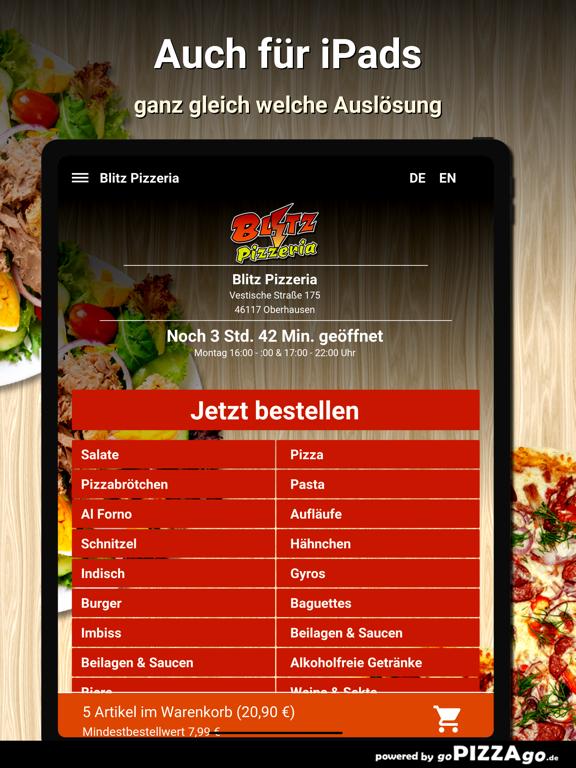 Blitz Pizzeria Oberhausen screenshot 7