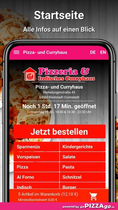 Pizza- und Curryhaus Riedstadt screenshot 2