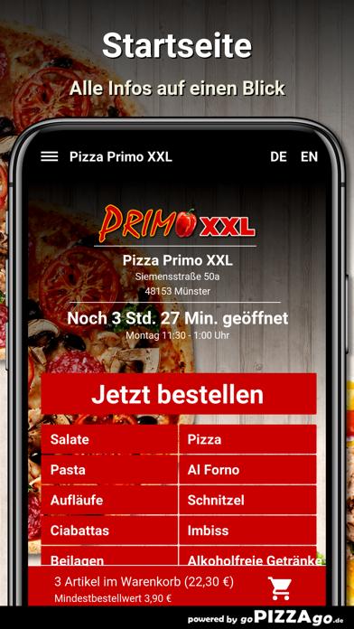 Pizza Primo XXL Münster screenshot 2