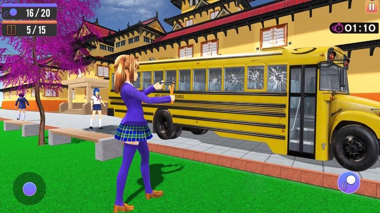 Anime Girl Life High School 3D screenshot-4