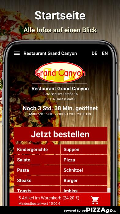 Restaurant Grand Canyon Halle screenshot 2