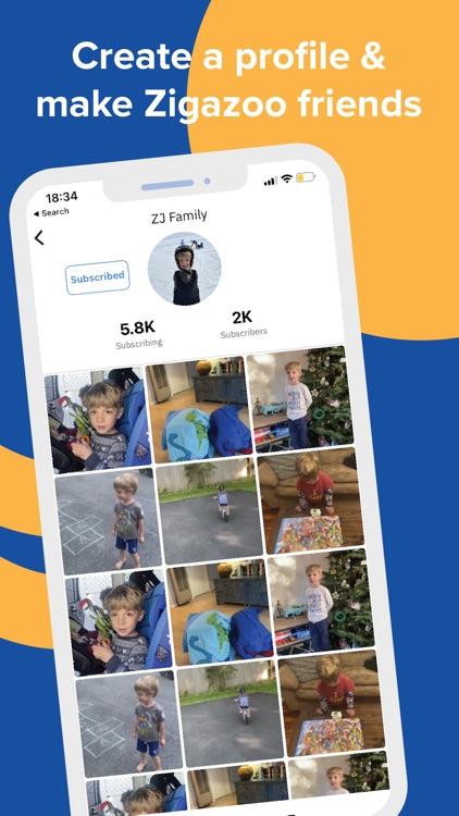Zigazoo: Social Media for Kids