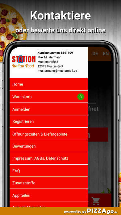 Station Italian Food Berlin screenshot 3