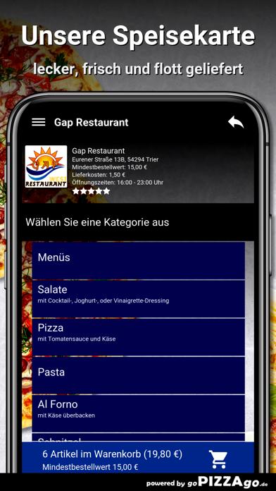 Gap Restaurant Trier screenshot 4