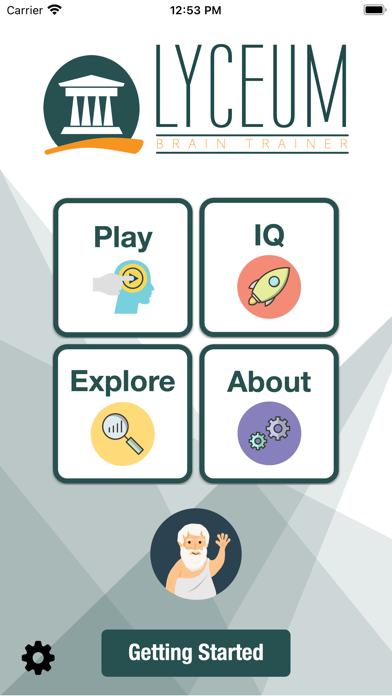 Lyceum Brain Trainer screenshot 1