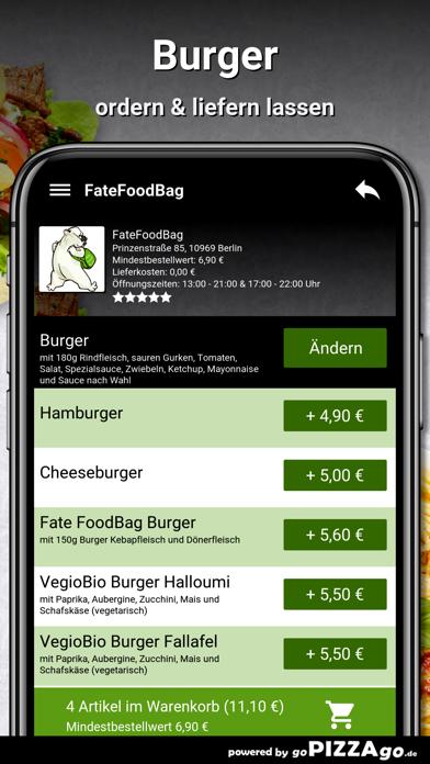 FateFoodBag Berlin screenshot 6