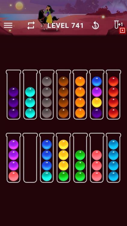 Ball Sort Color Water Puzzle screenshot-4