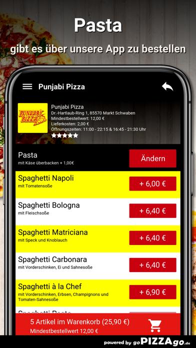 Punjabi-Pizza Markt Schwaben screenshot 6