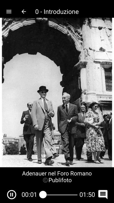 Adenauer a Roma screenshot 3