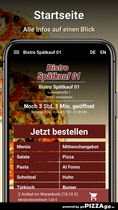 Bistro Spätkauf 01 Hildesheim screenshot 3