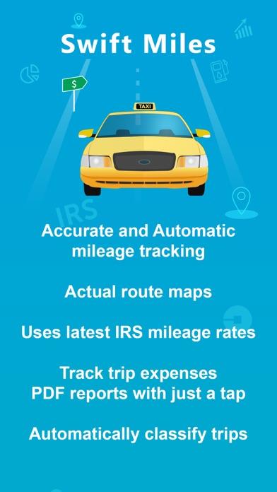 Swift Miles - Mileage Tracker Screenshots