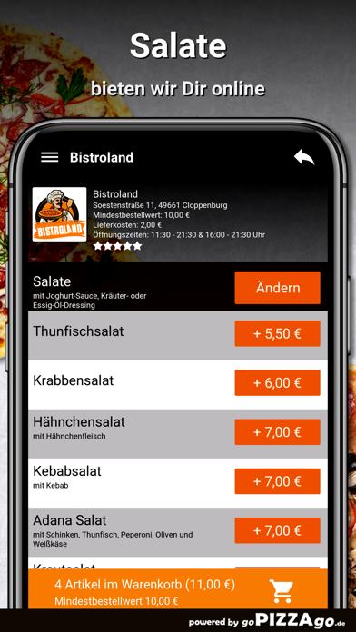 Bistroland Cloppenburg screenshot 5