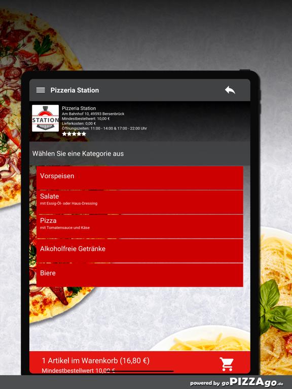 Pizzeria Station Bersenbrück screenshot 8