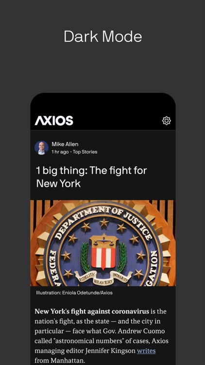 Axios: Smart Brevity news screenshot-5