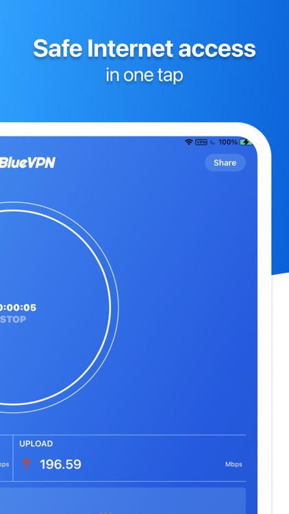 SkyBlueVPN: VPN Fast & Secure screenshot-4