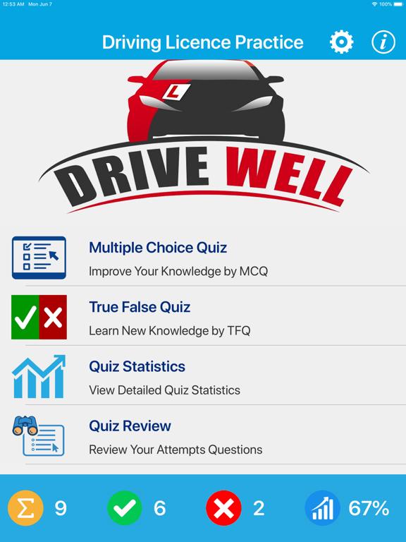 Driving Licence Quiz screenshot 6